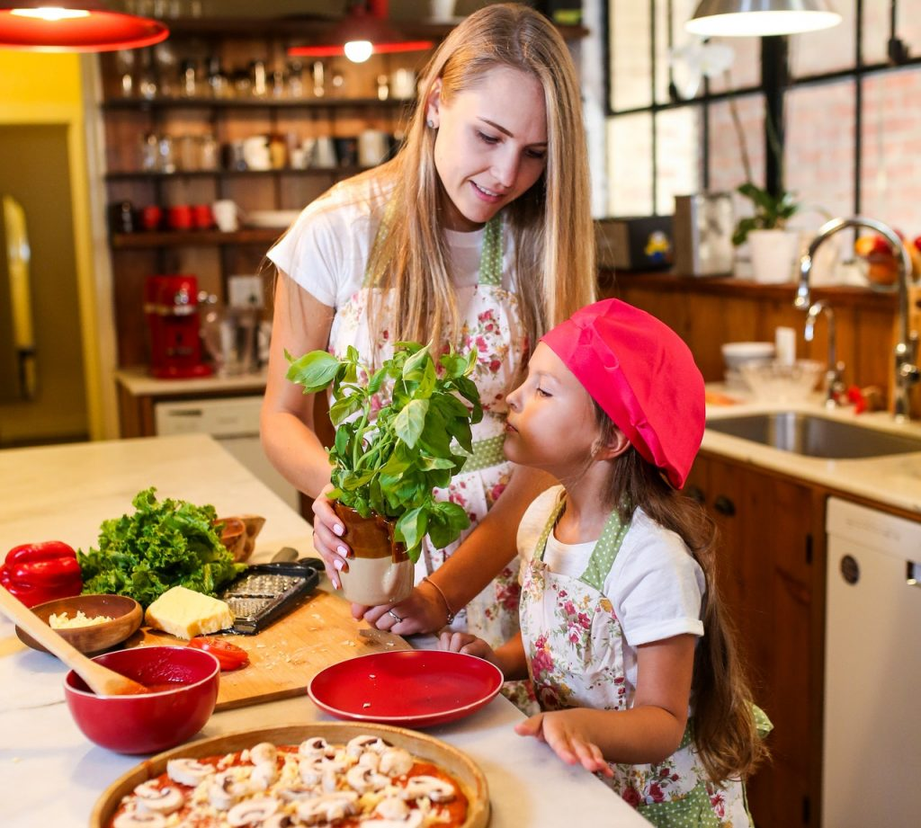 pizza bakken feestdagen eten kerst kinderen