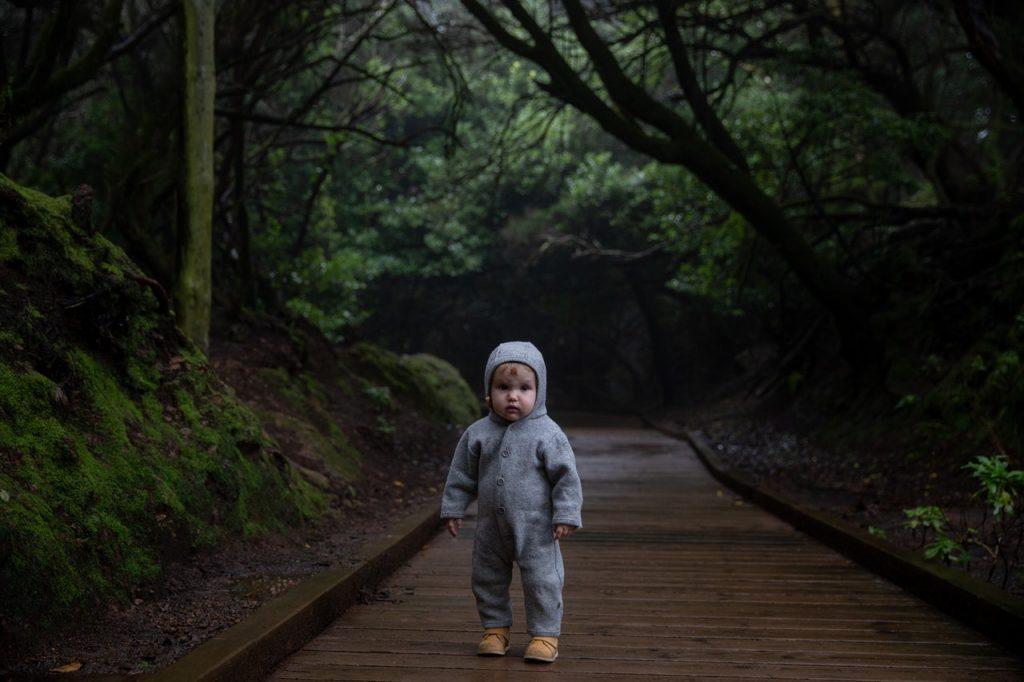 buiten activiteit kinderen herfst
