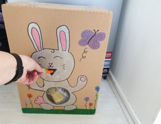 pasen knutsels konijn leontine kinderen knutselen zelf doen maken creatief